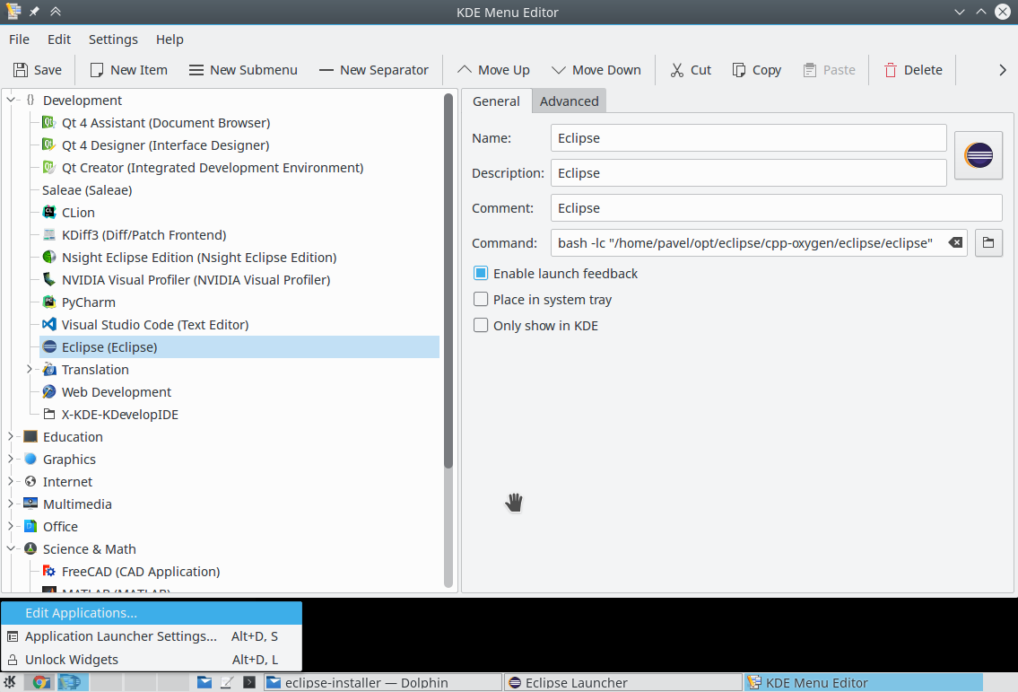Installing the Eclipse IDE - Knowledge Base - Zubax Knowledge Base