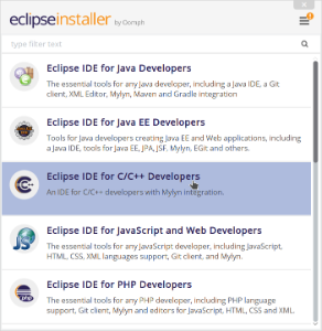 Installing the Eclipse IDE - Knowledge Base - Zubax